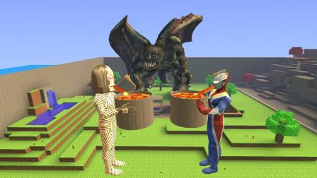 GMOD游戏为什么达达星人可以把岩浆当饮料喝奥特曼就不能?