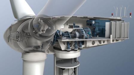 风力发电机转动速度那么慢,为什么发电量巨大?看完明白了!