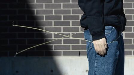 """美国发明""""绳索枪"""",十米开外就能使人失去行动,这也太有用了"""