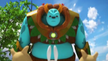 迷你特工队 看起来可怕的大怪兽 却是个非常善良的好朋友