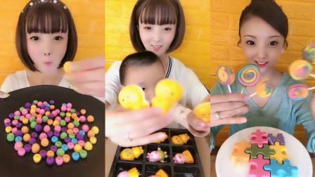 小可爱直播吃卡通小黄鸭,宝宝的最爱