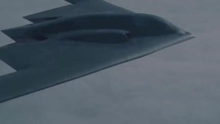 这三角形一直是我心中的谜团!实拍美帝B2轰炸机飞行!