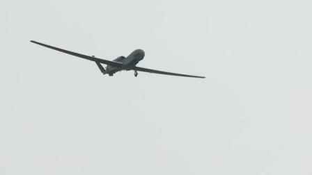 监视区域超过百万平分公里!RQ-4无人机发射!