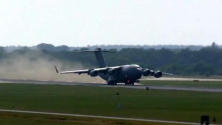 靠着这辆运输机!美帝才能快速支援中东战场!