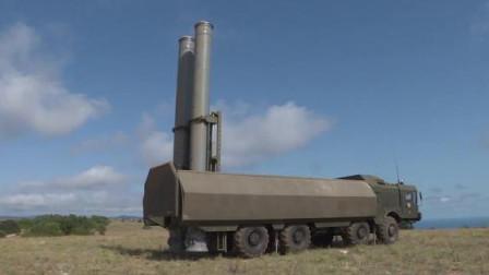 全球最先进的反舰导弹之一,实拍俄罗斯K-300P反舰导弹系统!