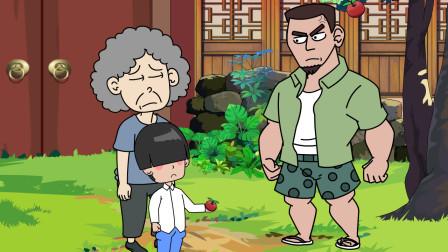 奶奶为了宠孙子破坏景区坏境,没想到得到这样的回应