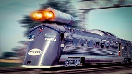"""领先中国高铁50年!前苏联""""飞行高铁""""曝光,上世纪的光速科技"""
