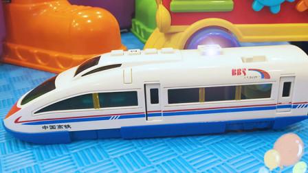 认识高铁、火车等7种交通工具