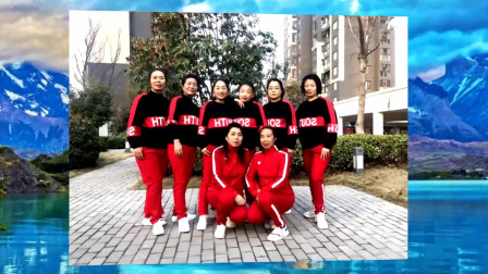 河南濮阳红玫瑰桂园健身队演示优柔原创第五套完整版