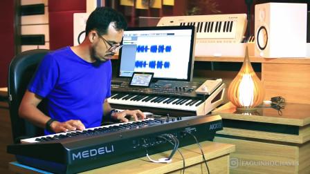 美得理最新A2000编曲键盘海外版AKX10演示试听