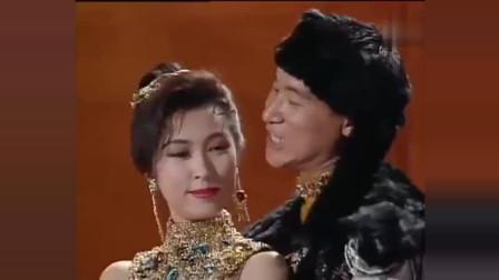 四大天王刘德华、张学友、黎明、郭富城化身王子轮流与郭蔼明共舞