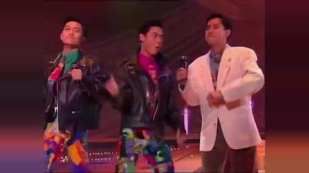 谭咏麟,草蜢,刘德华,张学友现场合唱《爱情陷阱》,堪称经典!