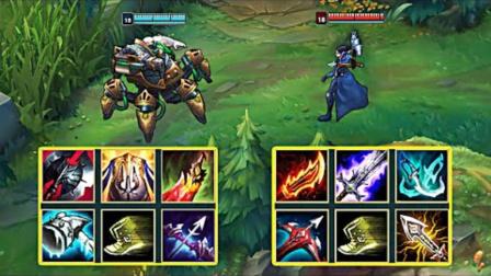 LOL:神装厄加特vs神装薇恩,哪个英雄更强?