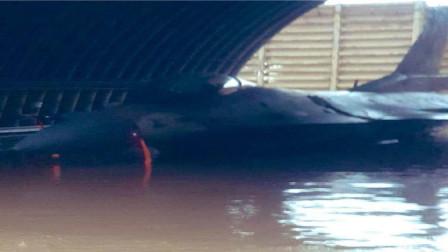"""以色列遭遇""""飞来横祸"""",空军基地遭洪水淹没,大批美战机被泡坏"""
