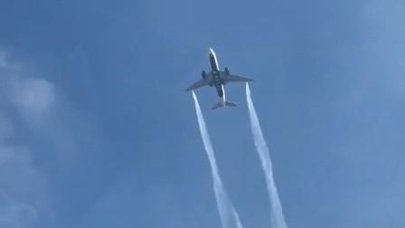 美国达美航空客机小学操场上空放油 致26人伤
