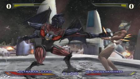 奥特曼格斗进化4 泰罗爆锤恶魔差距太大了