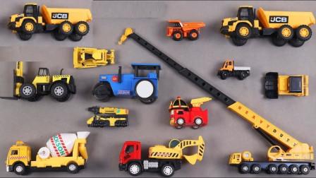 工程车拖车铲车模型玩具
