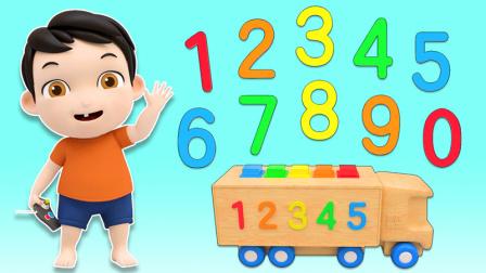 大卡车数字玩具