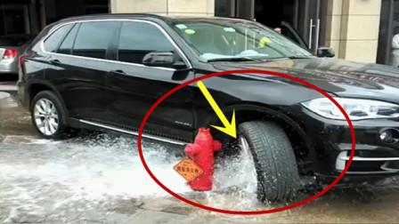 """遇上""""免费""""洗车,宝马司机才不会客气!"""