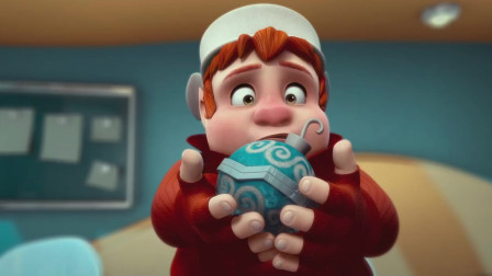 拯救大明星:伯纳德为了让其他人失忆忘记圣诞老人,失误之后将其他精灵弄失忆