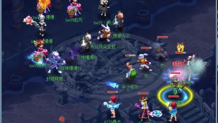 梦幻西游:阿金与浩文的天猴组第一次亲密接触,战场经验很重要!