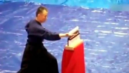日本武术界顶级高手手刀绝技,这功夫实战性不敢想象!
