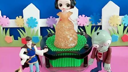 王后举办了一场投票比赛,谁的票数最多,谁就能娶到白雪公主