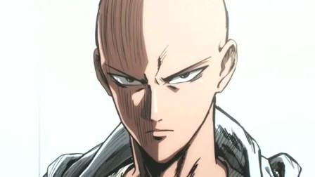 一拳超人:琦玉老师秒变画风,帅哥你是谁啊