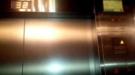 上海新锦江大酒店电梯