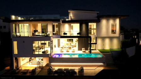 造价一千三百万美金的现代豪宅,美得冒泡