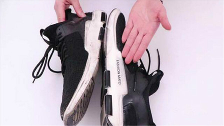 白鞋边脏了别用水擦,鞋店老板教我绝招,污渍一擦就掉,省时省力