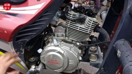 摩托车发动机小油门总有哒哒的响声什么原因?老师傅教你在家不花钱就可修好故障