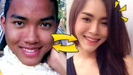 泰国男生变成了漂亮小姐姐?!