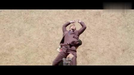 当成龙遇上蒙古汉子根本就没有还手之力这段太搞笑了