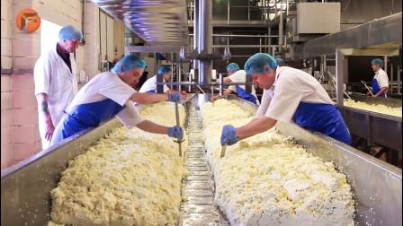 甜品糕点制作全流程公开!瞧瞧工厂是如何流水线操作的!