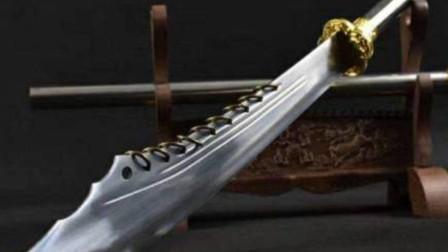 大刀刀背上为何挂一串铁环?原来还有着门道,不练武的人绝不知道
