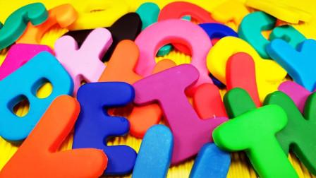 七彩数字字母玩具开箱展示