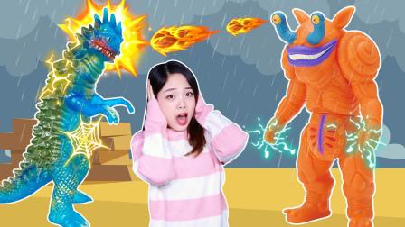 我的老师是怪兽!雷德王的雷雨天历险记!