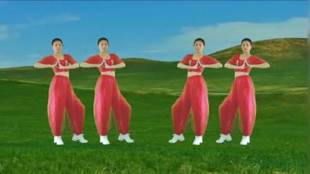 气质美女广场舞《DJ一生最爱的是你》一样的歌曲,不一样的舞蹈, 太好看了!