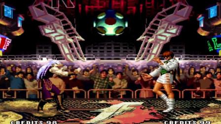 拳皇97:被女神倒追的安迪战力不凡,全程无伤一穿三碾压大蛇队