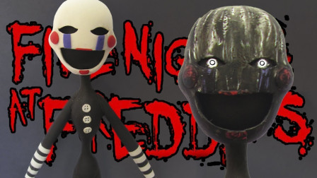 """手办:用软泥打造游戏角色小丑人偶,还能""""变脸""""!"""