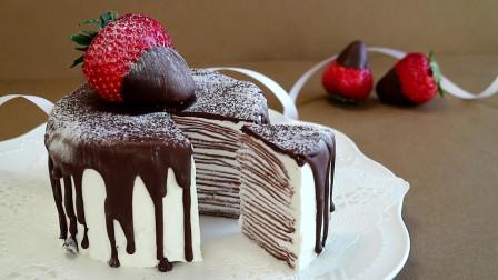 不用烤箱,怎么做巧克力蛋糕?一分钟教你自己在家就能做!