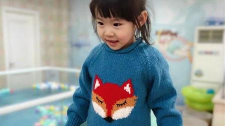 超可爱狐狸卡通套头衫 亲子装 【小眯眼】7  缝合