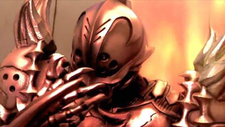 假面骑士:第四个假面骑士,就是异虫之王!单论骑士形态,甲斗能打赢他吗?