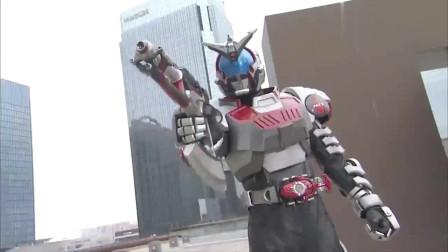 假面骑士:甲斗王的形态变换太帅了,近十年的假面骑士根本没法比啊!
