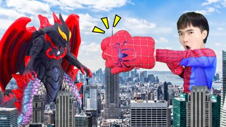 超級英雄奧特曼玩具為何怪獸來美國隊長家了是因為他做了這件事嗎