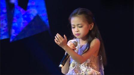 9岁萝莉无调音演唱《凉凉》,开口秒杀各路网红翻唱,嗓音无敌了