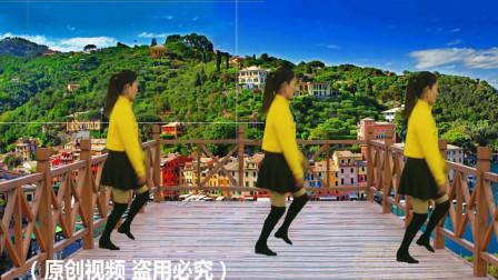 广场舞《公虾米》歌好听舞好看,简单好看更易学