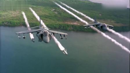 战斗机发射把跨海大桥、车辆瞬间炸毁