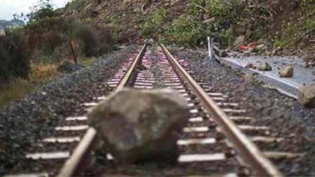 高铁列车前方突然出现大石头怎么办?看中国工程师怎么完美解决,太牛了